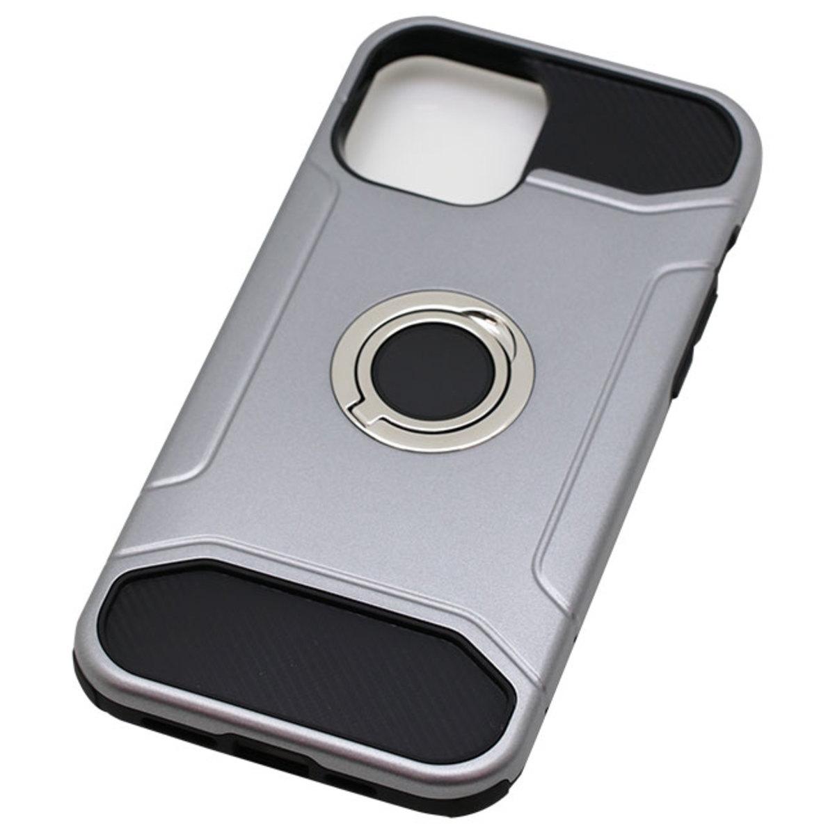 iPhone 12 Pro Max用 リング付ケース 耐衝撃